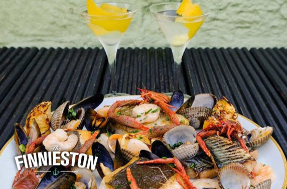 Finnieston seafood & gin cocktails