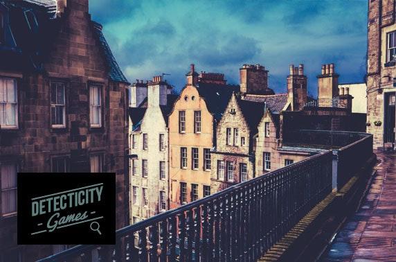Edinburgh outdoor mystery game