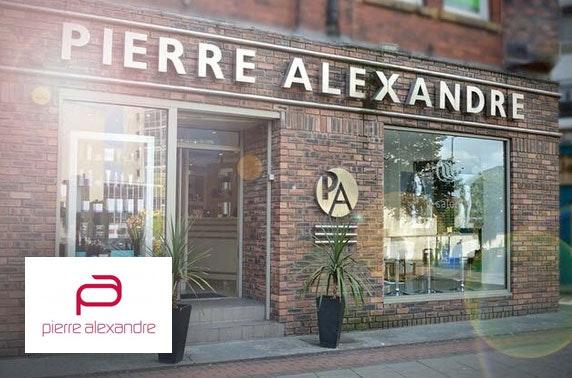 Pierre Alexandre hair treatments