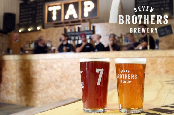 Seven Bro7hers Brewery tour & tasting - from £5.50pp