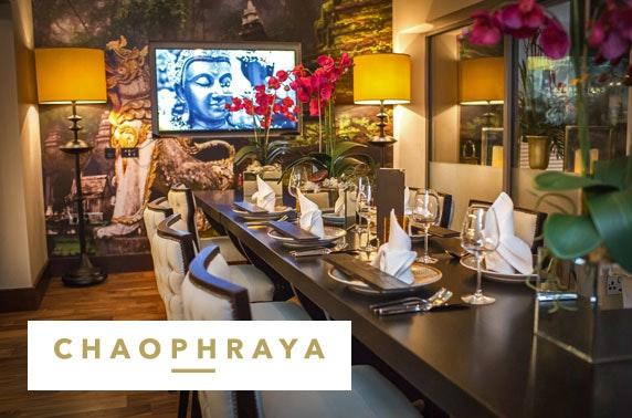 Chaophraya Thai banquet & Prosecco