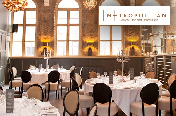 Metropolitan private dining – under £20pp
