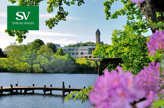 Stirling group getaway – from £12pppn
