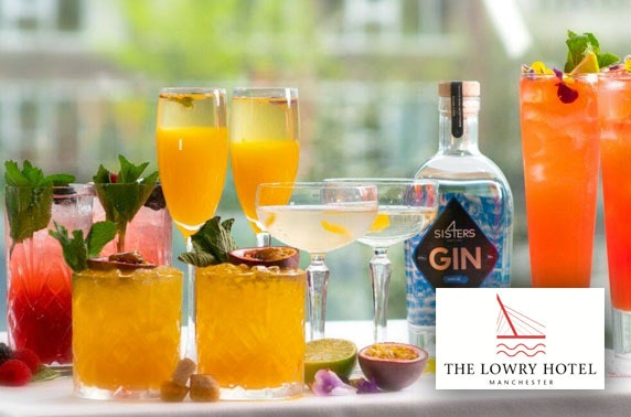 5* The Lowry Hotel cocktails & nibbles