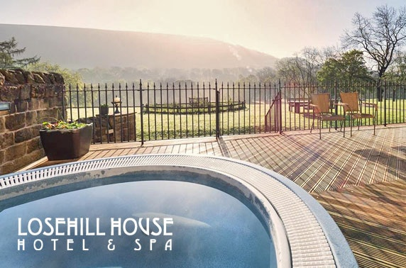4* Losehill House DBB, Peak District