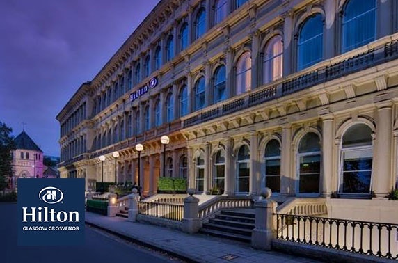 4* Hilton Glasgow Grosvenor private dining