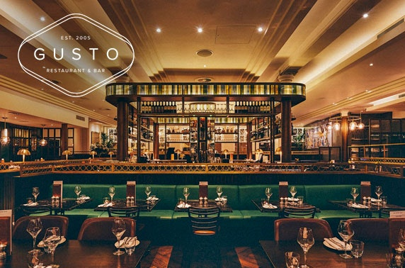 Gusto Prosecco dining - choice of 5 locations