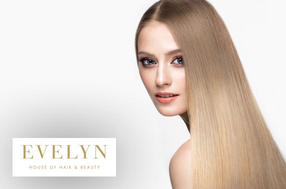 House of Evelyn nanokeratin smoothing hair treatment