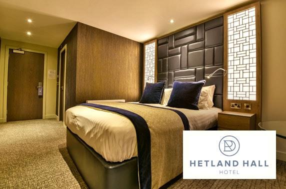 Hetland Hall Hotel DBB, Dumfries - £89