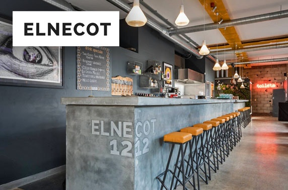 Award-winning Elnecot small plates & drinks, Ancoats