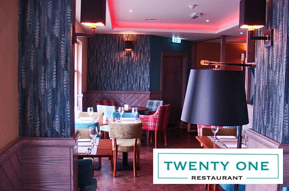 Twenty One Restaurant group dining, Hamilton
