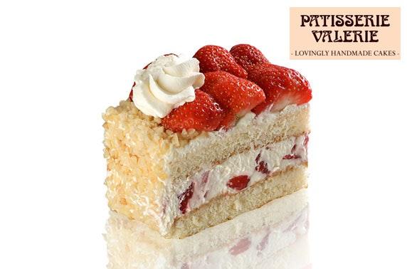 Patisserie Valerie cake & drinks or afternoon tea