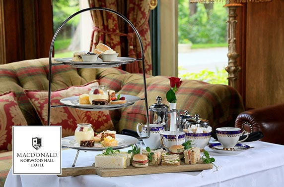 4* Macdonald Norwood Hall afternoon tea