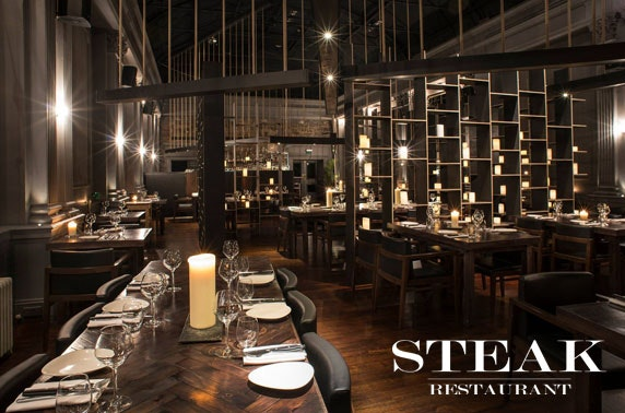 Award-winning Steak Restaurant dining & wine