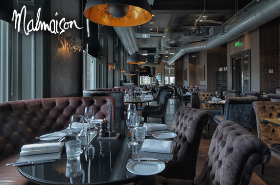 4* Malmaison Dundee Prosecco or gin festive afternoon tea