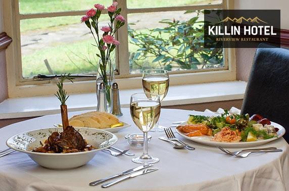 Killin Hotel DBB, Perthshire - £69