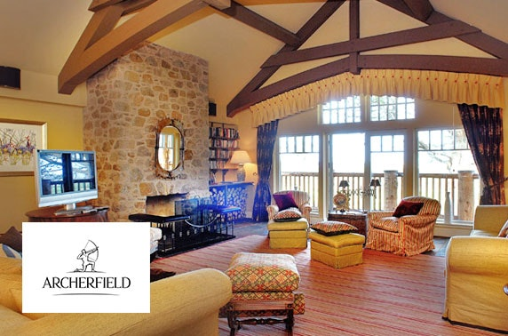 5* Archerfield luxury lodge stay