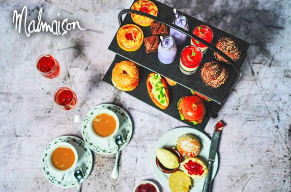 4* Malmaison Glasgow Hendrick's Gin afternoon tea