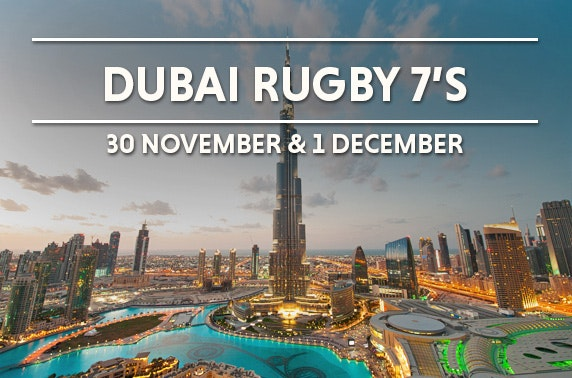 Dubai Rugby 7s inc flights & hotel