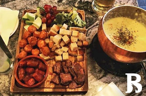 Bock Biere choc or cheese fondue - from £4.50pp