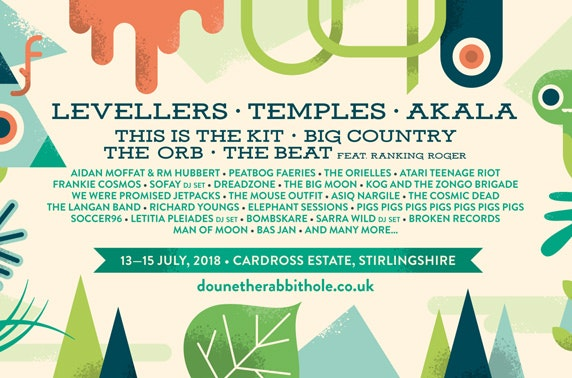 Doune the Rabbit Hole festival, Cardross Estate