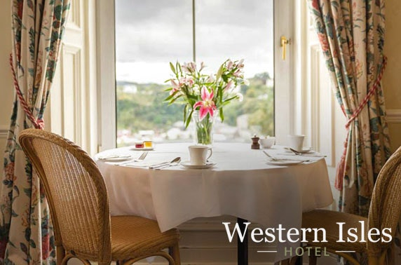 The Western Isles Hotel stay, Mull