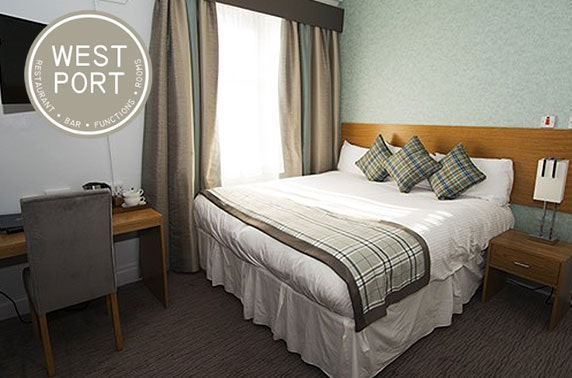 West Port Hotel stay, Linlithgow - £49