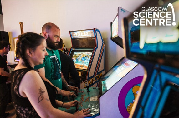 GamesMania at Glasgow Science Centre