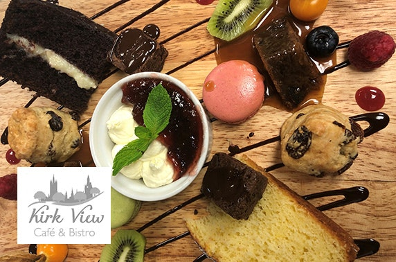Award-winning Kirk View afternoon tea