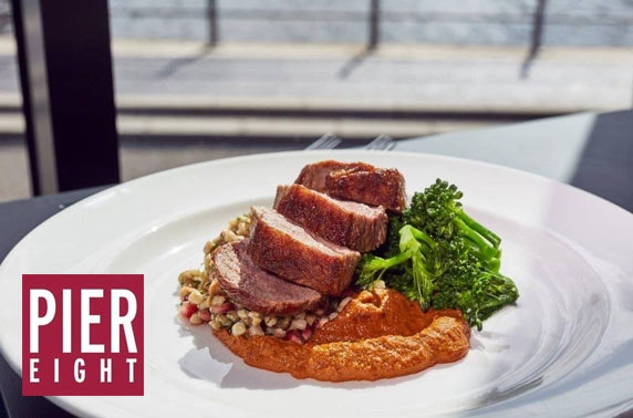 Pier Eight at The Lowry dining