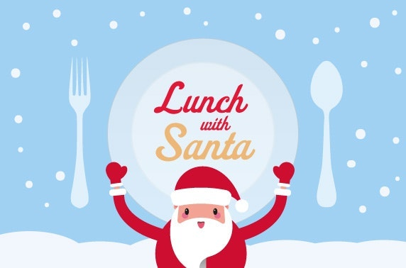 lunch with santa at village hotel edinburgh itison
