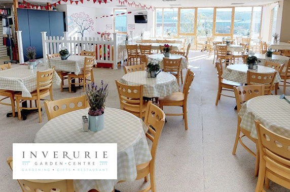 Inverurie Garden Centre cakes, lunch & drinks