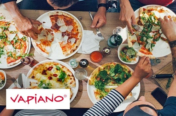 Pizza or pasta for two at Vapiano, New Town