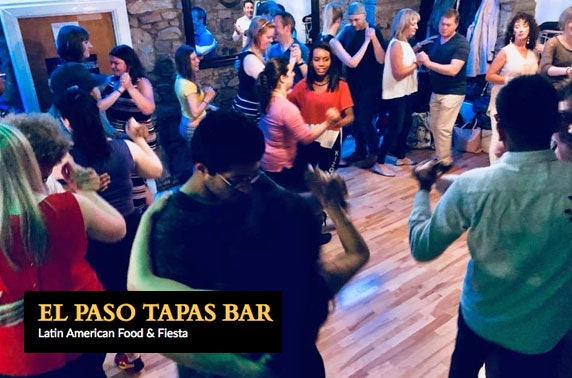Beginners' salsa or bachata class