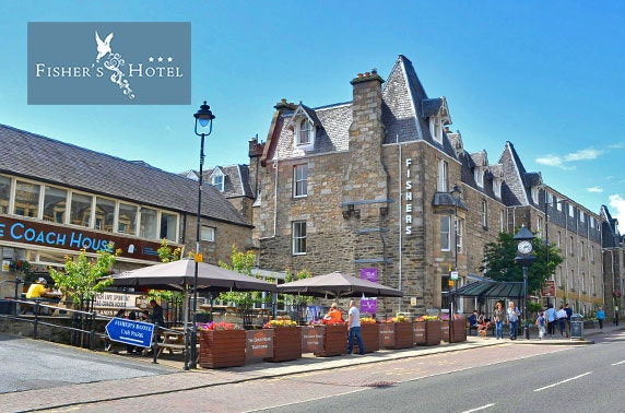 Fisher's Hotel stay, Pitlochry