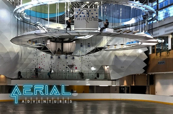 Aerial Adventures soft play or adventure pass