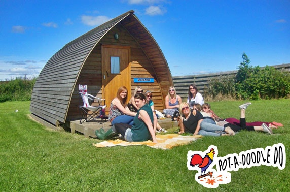 Wigwam stay, nr Berwick-Upon-Tweed