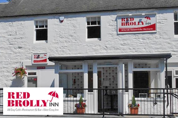 The Red Brolly Inn, near Pitlochry