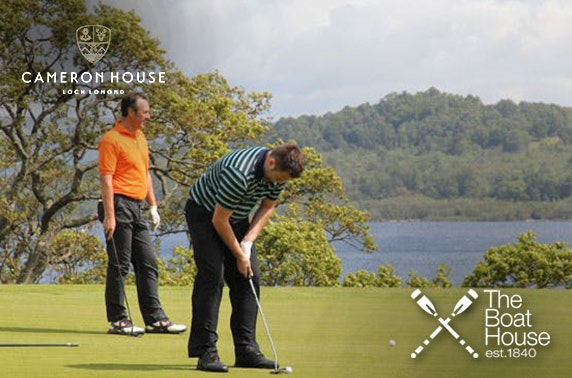 Cameron House 2019 golf membership