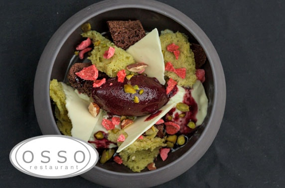 Michelin recommended Osso Restaurant, Peebles