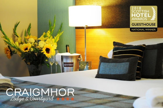 4* Craigmhor Lodge & Courtyard stay