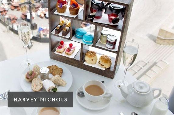 Harvey Nichols luxury gin afternoon tea