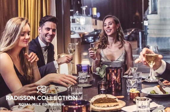 Radisson Collection Royal Mile festive party night