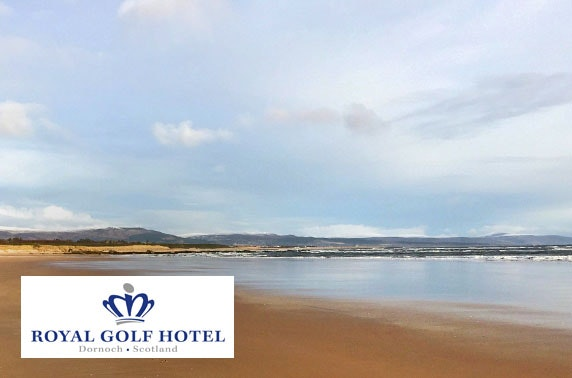 Royal Golf Hotel stay, Dornoch - from £59