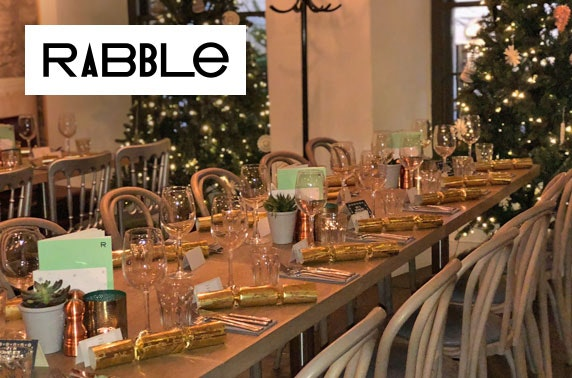 Christmas dining & drinks at Rabble, Frederick St