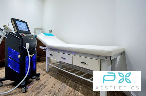 Laser hair removal at P A Aesthetic Clinic, Spinningfields