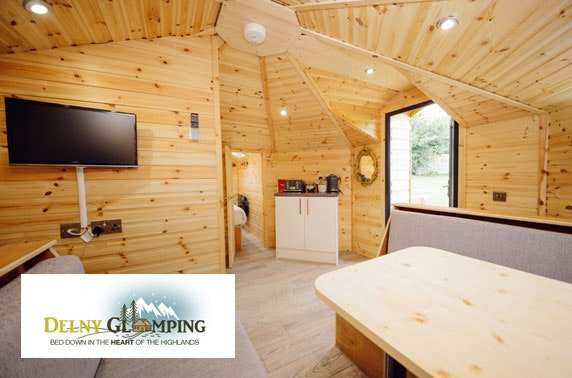 Highland luxury glamping getaway – from £14pppn