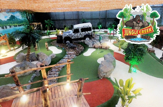 Jungle Creek Adventure Golf, soft play & food