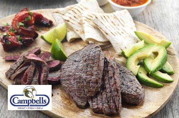 Campbells Prime Meat steak pack