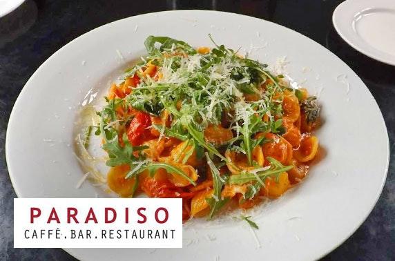 Paradiso Italian dining, City Centre